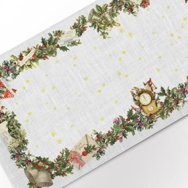 Table runner / Christmas Letters