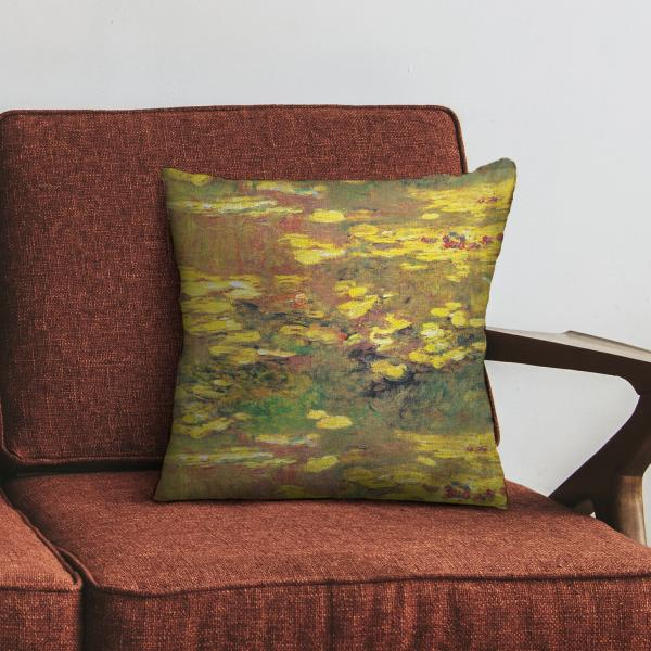 Cushion cover / Water Lilies, 1919