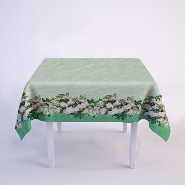 Tablecloth / Roses, 1890