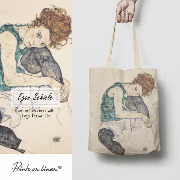 Tote bag / Seated Woman