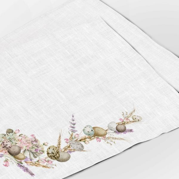 Placemats set /  Easter and Lavenders