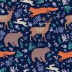 Forest pattern with animals