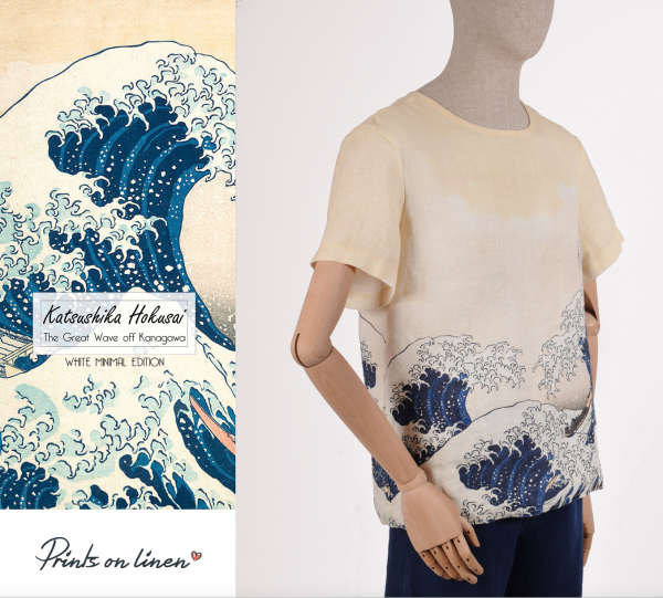 Men shirt / The Great Wave