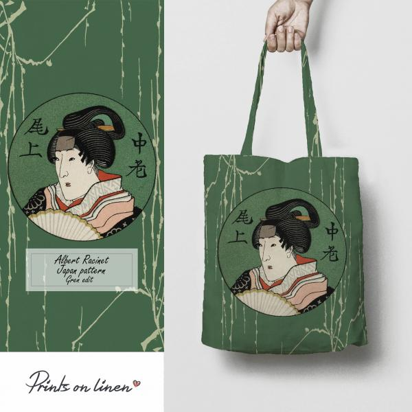 Tote bag / Albert Racinet