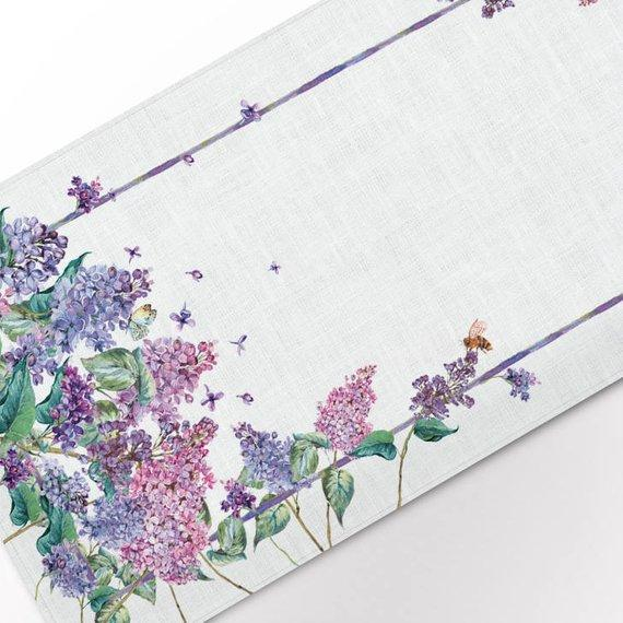 Table runner / Lilac