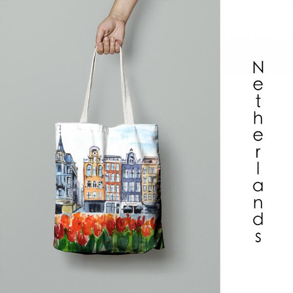 Wholesale - NETHERLANDS - tote bags