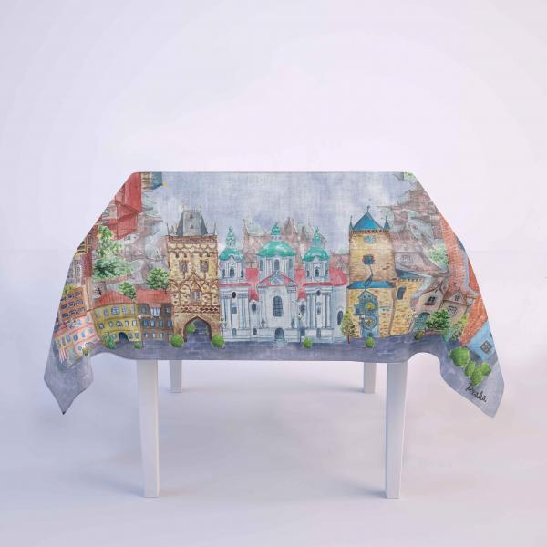 Tablecloth / Prague city