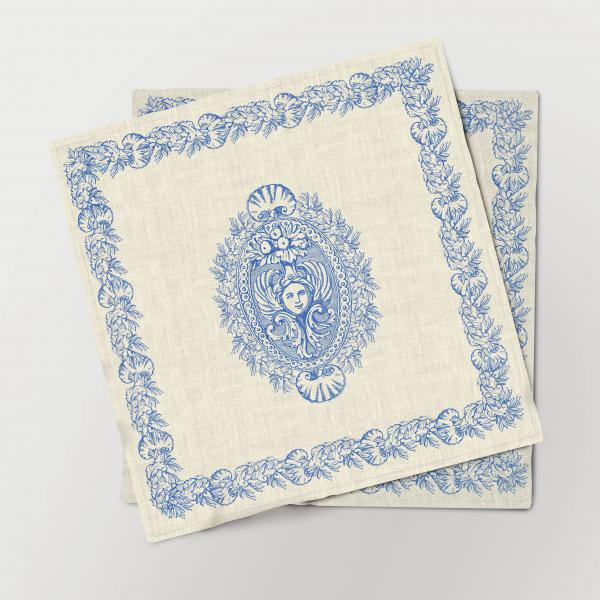 Napkins set / Antique