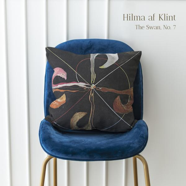 Cushion cover / The Swan, No. 7