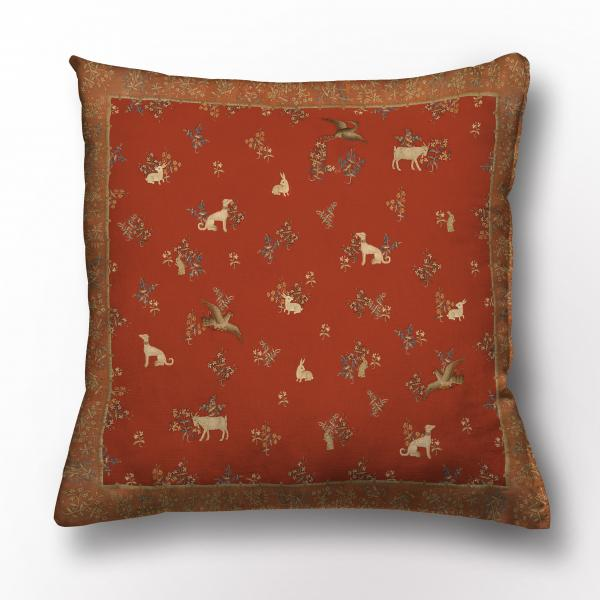 Cushion cover / Lady and the unicorn