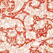 William Morris Bachelors Button / Red