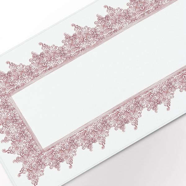 """Table runner """"Laces pattern"""" 142x50cm"""