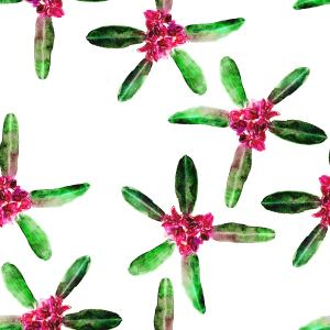 Rhododendrons flower pattern