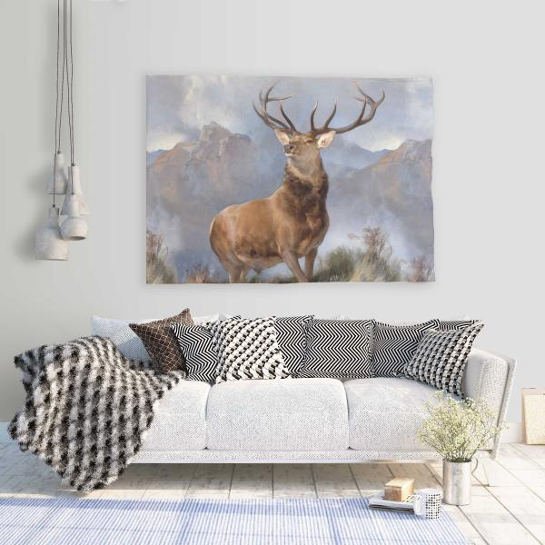 Wall tapestry / Horns