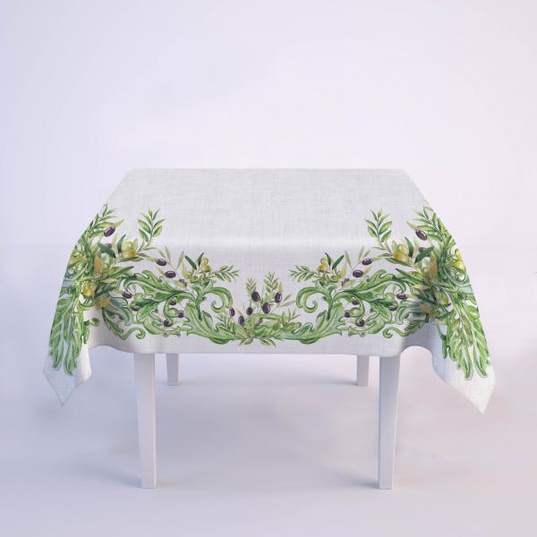 "Tablecloth ""Olives garden"""