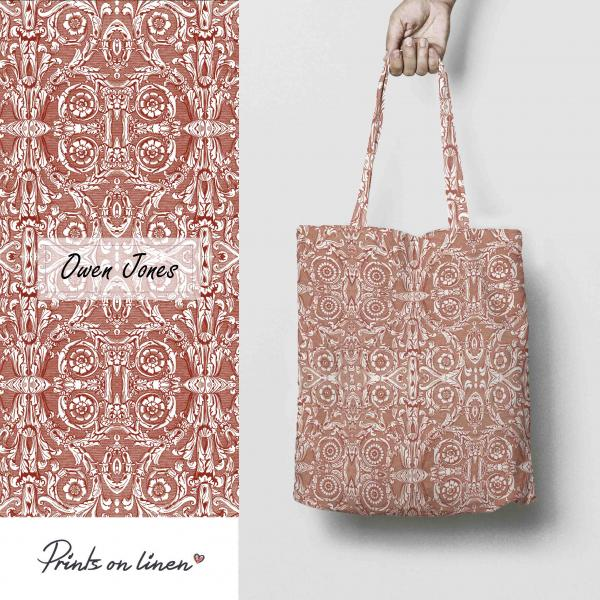 Tote bag / Ornament red