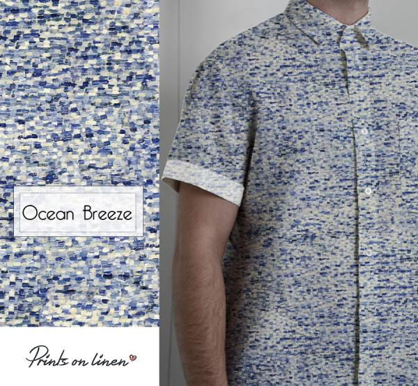 Men Shirt / Ocean Breeze