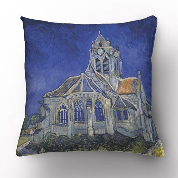 Cushion cover / The Church in Auvers