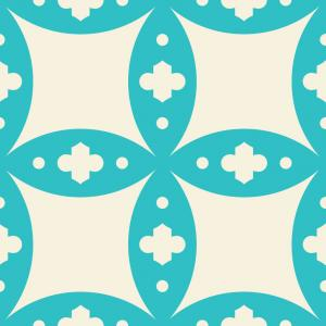 Moroccan Tile - Turquoise