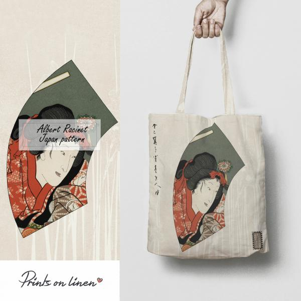 Tote bag / Japan pattern