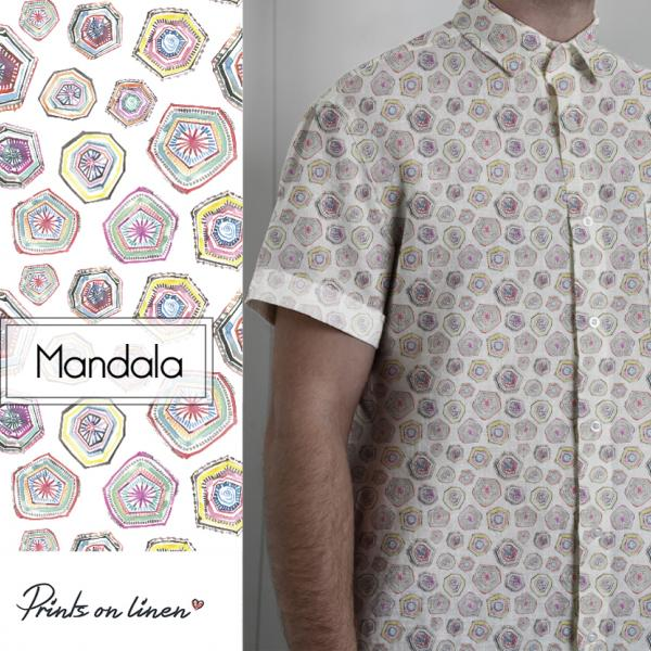 Men shirt / Mandala