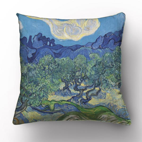Cushion cover / Olive trees II