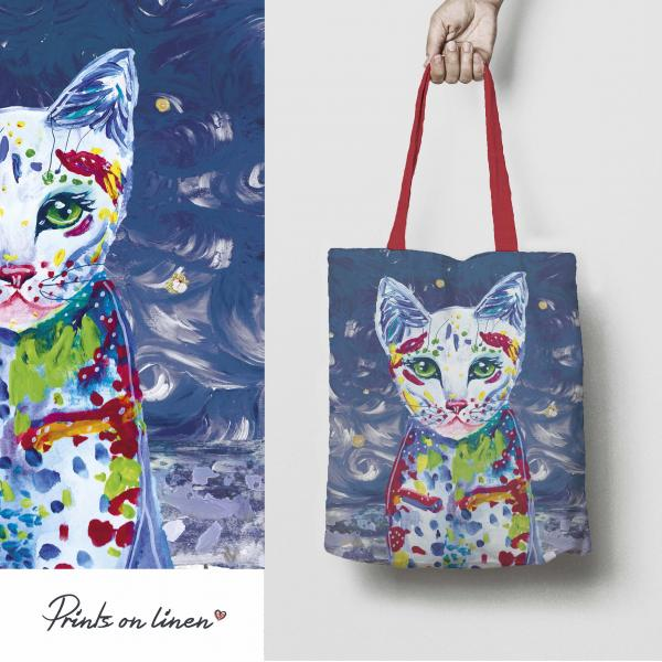 Tote bag / The story of cat