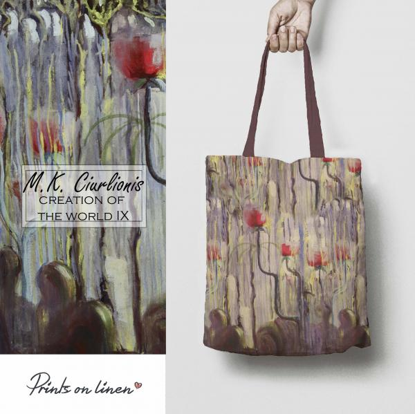 Tote bag / Creation of the World IX