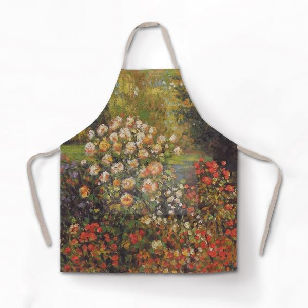 Apron / The Roses in the Garden at Montgeron motive