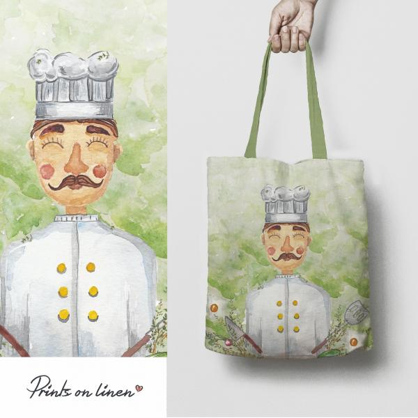 Tote bags  / Chef man