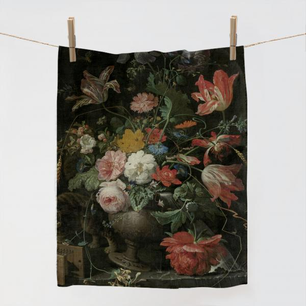 Kitchen Towel / The Overturned Bouquet