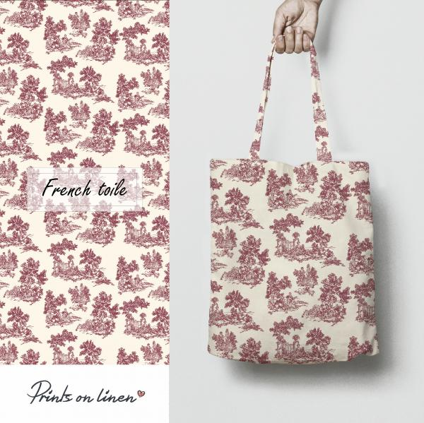 Tote bag / French Toile