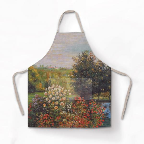 Apron / The Roses in the Garden at Montgeron