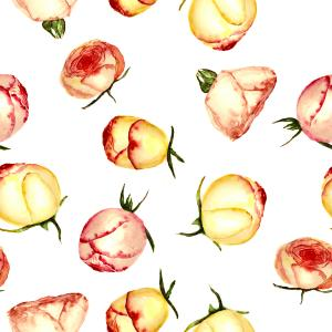 Rose buds pattern