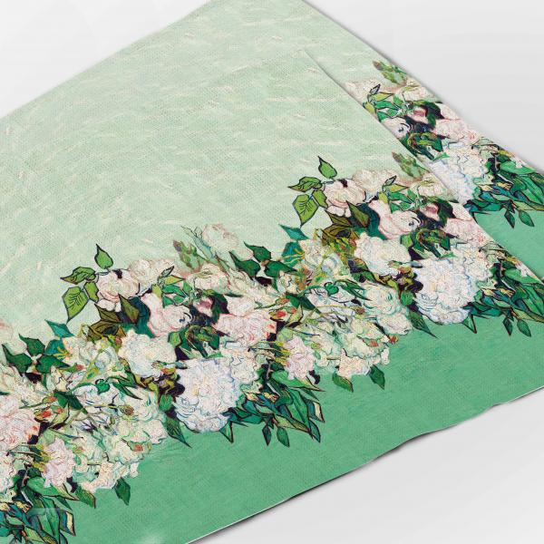 Placemats set / Roses, 1890