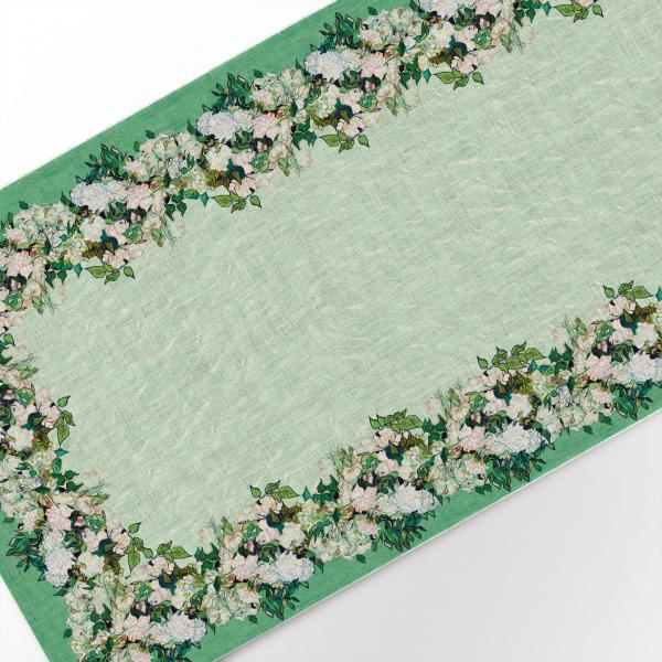 Table runner / Roses, 1890