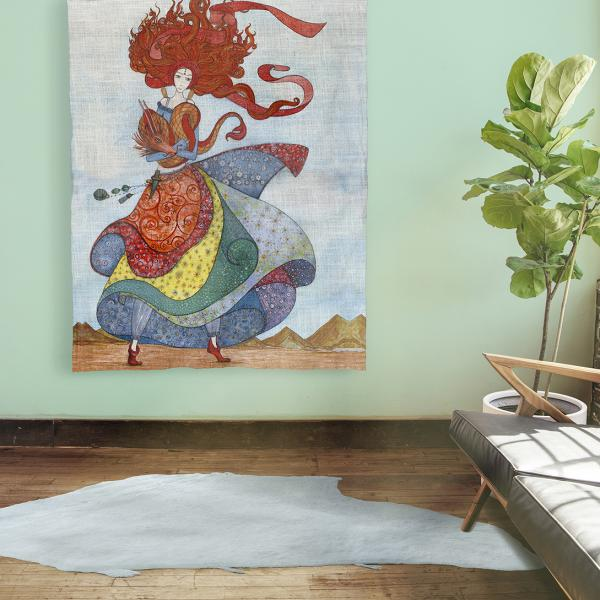 Wall tapestry / Lady with Red Hair