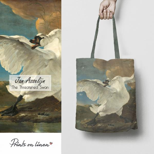 Tote bag / The Threatened Swan