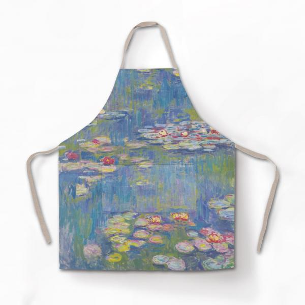 Apron / Water Lilies
