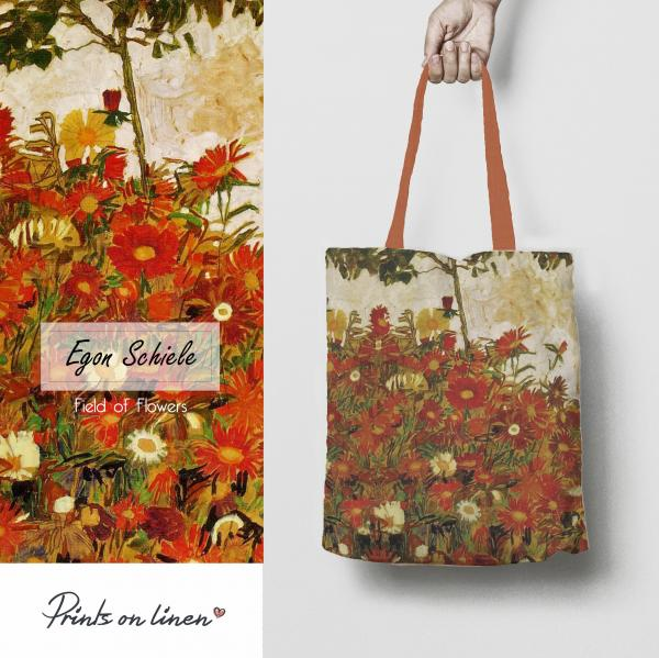 Tote bag / Field of Flowers
