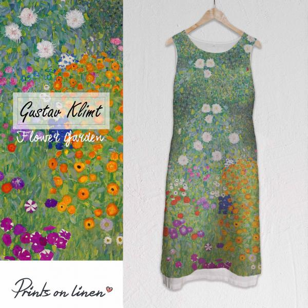 Long dress / Flower Garden