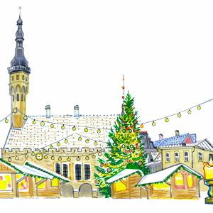 Christmas in Tallinn, Estonia