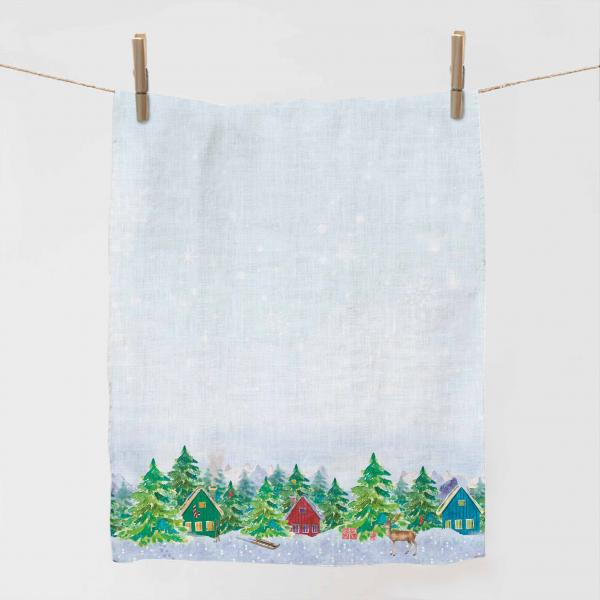 Kitchen towel / Forester's Hut