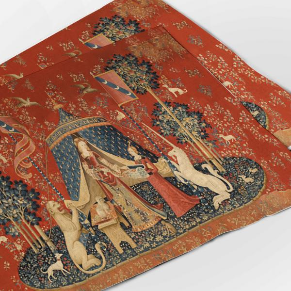 Placemats set / The Lady and the Unicorn