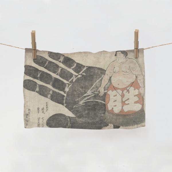 Towel / Sumo Wrestler and His Hand