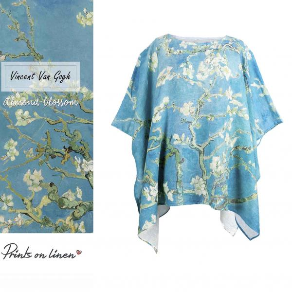 One size tunic / Almond blossoms