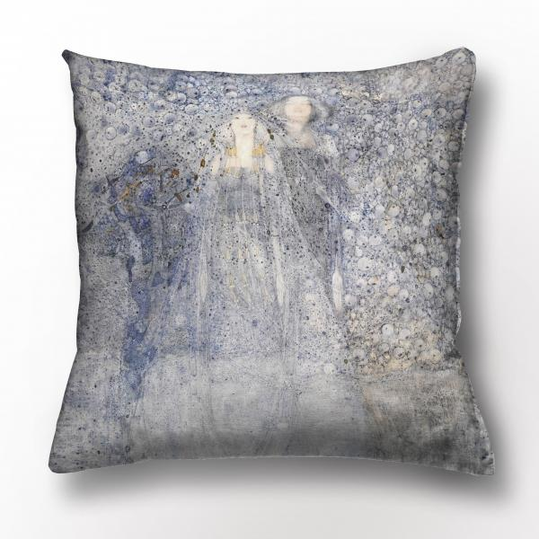 Cushion cover /  Silver Apples of the Moon