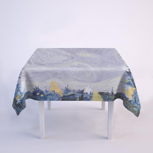 Tablecloth / Starry Christmas Night