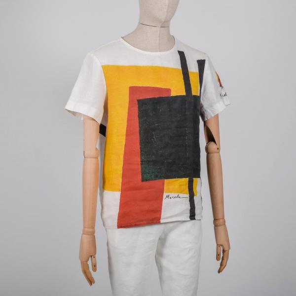Men shirt / Suprematism 1915