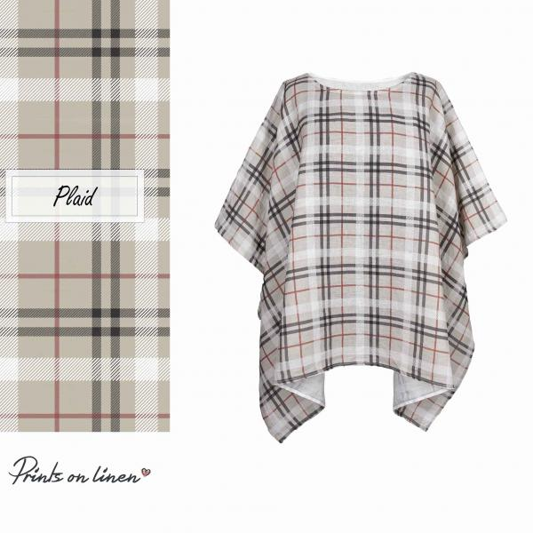 One size tunic / Plaid